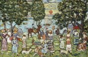 Maurice Brazil Prendergast - Sunset, about 1915-18