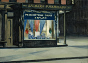 Edward Hopper - Drug Store, 1927