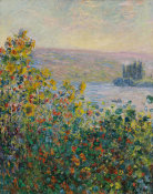 Claude Monet - Flower Beds at Vétheuil, 1881