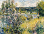 Pierre-Auguste Renoir - The Seine at Chatou, 1881