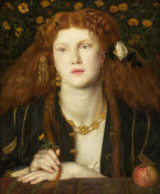 Dante Gabriel Rossetti - Bocca Baciata (Lips That Have Been Kissed), 1859