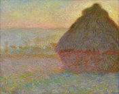 Claude Monet - Grainstack (Sunset), 1891