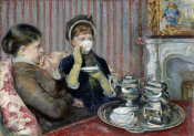 Mary Cassatt - The Tea (Le Thé), about 1880