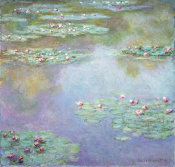 Claude Monet - Water Lilies (II), 1907