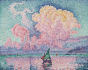 Paul Signac - Antibes, The Pink Cloud (Antibes, le Nuage Rose), 1916