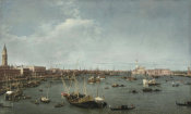 Canaletto - Bacino di San Marco, Venice, about 1738