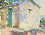 John Singer Sargent - Corfu: Lights and Shadows, 1909