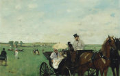 Edgar Degas - At the Races in the Countryside, 1869