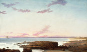 Fitz Henry Lane - View of Coffin's Beach, 1862