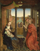 Rogier van der Weyden - Saint Luke Drawing the Virgin, about 1435-40