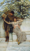 Sir Lawrence Alma-Tadema - Promise of Spring, 1890