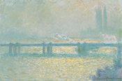 Claude Monet - Charing Cross Bridge (overcast day), 1900, 1900