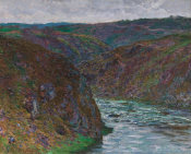 Claude Monet - Valley of the Creuse (Gray Day), 1889