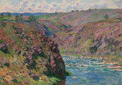 Claude Monet - Valley of the Creuse (Sunlight Effect), 1889