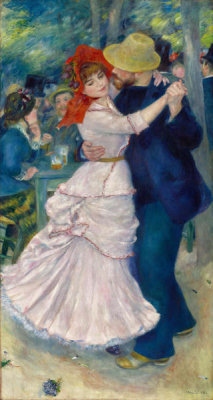 Pierre-Auguste Renoir - Dance at Bougival, 1883