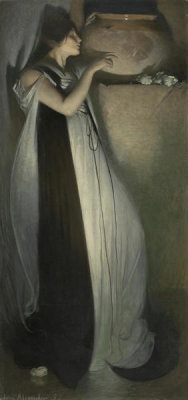 John White Alexander - Isabella and the Pot of Basil, 1897