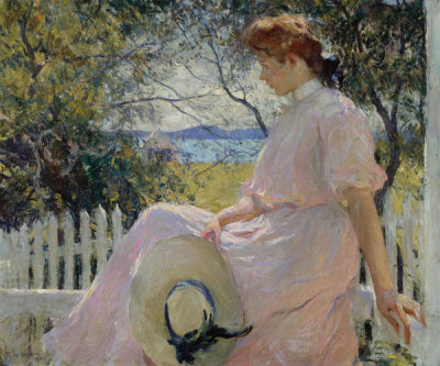 Frank Weston Benson - Eleanor, 1907