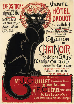 Theophile-Alexandre Steinlen - Collection of the Chat Noir, 1898
