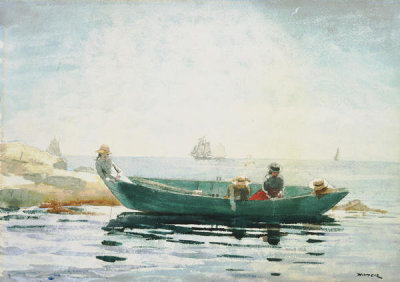 Winslow Homer - The Green Dory, 1880