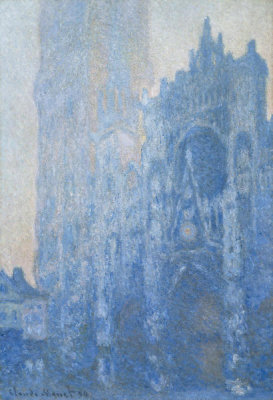Claude Monet - Rouen Cathedral Façade and Tour d'Albane (Morning Effect), 1894