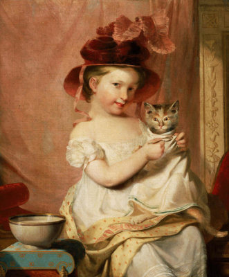 Samuel Finley Breese Morse - Little Miss Hone, 1824