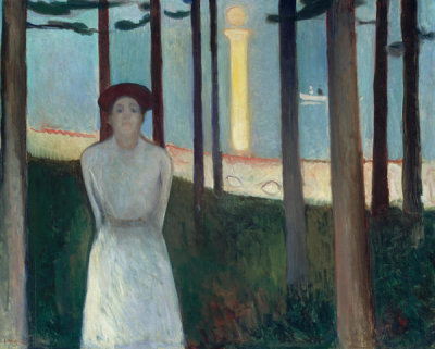 Edvard Munch - Summer Night's Dream (The Voice), 1893