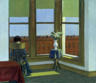 Edward Hopper - Room in Brooklyn, 1932