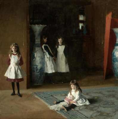 John Singer Sargent - The Daughters of Edward Darley Boit, 1882