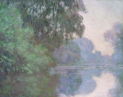 Claude Monet - Morning on the Seine, near Giverny, 1896