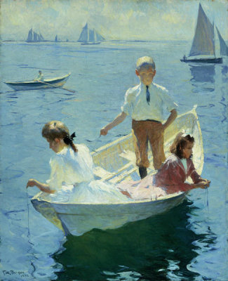 Frank Weston Benson - Calm Morning, 1904