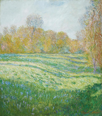 Claude Monet - Meadow at Giverny, 1886