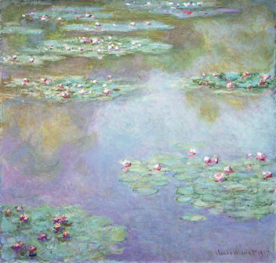 Claude Monet - Water Lilies, 1907
