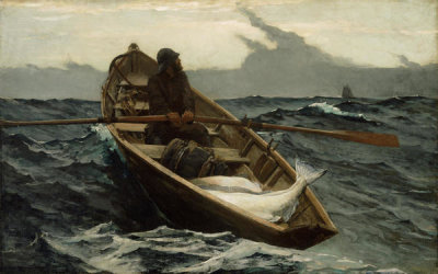 Winslow Homer - The Fog Warning, 1885