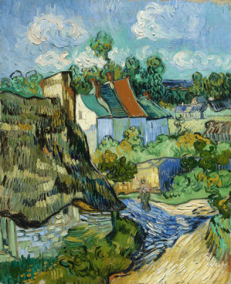 Vincent van Gogh - Houses at Auvers, 1890