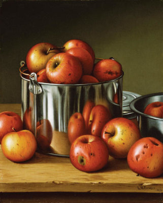 Levi Wells Prentice - Apples in a Tin Pail, 1892
