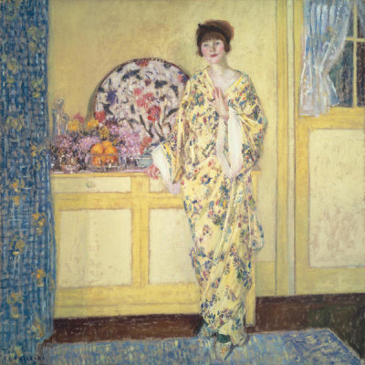 Frederick Carl Frieseke - The Yellow Room, about 1910