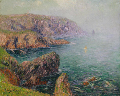 Henry Moret - Cliffs at Ouessant, Brittany, 1901