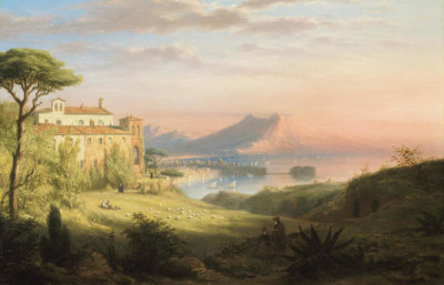 Robert Walter Weir - Bay of Naples, about 1830