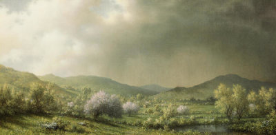 Martin Johnson Heade - April Showers, 1868