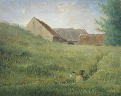 Jean-François Millet - Path through the Wheat, about 1867