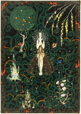 Kay Nielsen - Flowers and Flames, 1921