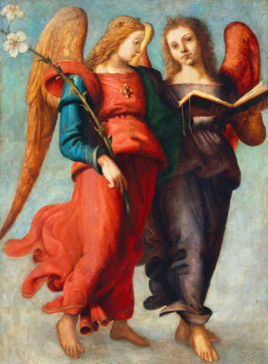 Piero di Cosimo - Two Angels, about 1510-15