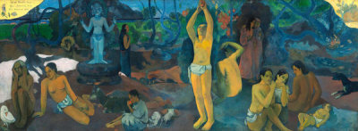 Paul Gauguin - Where Do We Come From? What Are We? Where Are We Going?, 1897-98