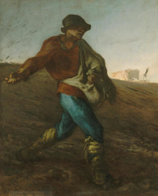 Jean-François Millet - The Sower, 1850