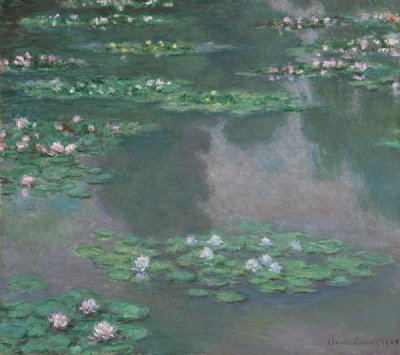 Claude Monet - Water Lilies (I), 1905