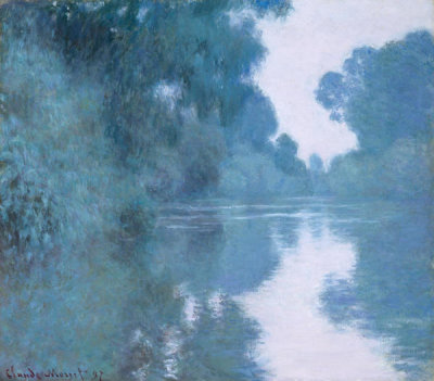 Claude Monet - Morning on the Seine, near Giverny, 1897