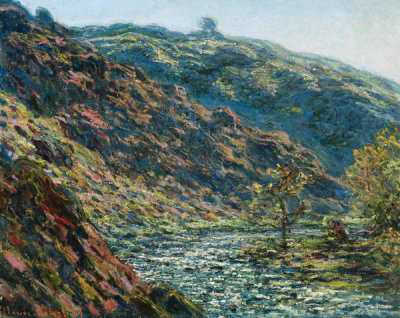 Claude Monet - Valley of the Petite Creuse, 1889