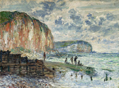Claude Monet - Cliffs of the Petites Dalles, 1880