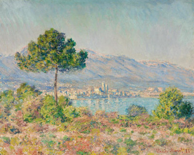 Claude Monet - Antibes Seen from the Plateau Notre-Dame, 1888