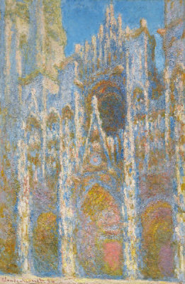 Claude Monet - Rouen Cathedral, Façade, 1894